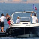 Nicole Richie and Joel Madden: Out on the Water in the South of France - 454 x 360