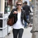 AnnaLynne McCord spotted out for lunch in Beverly Hills, California on December 17, 2014