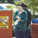 Lena Headey – Out for a coffee in Los Angeles
