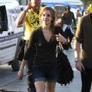 Emma Watson Spends The Weekend At The Glastonbury Festival