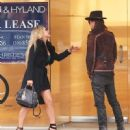 Nikki Lund and Richie Sambora check out their new flagship store 'Nikki Rich' opening in March 15 in Beverly Hill, CA on February 2, 2015 - 450 x 600
