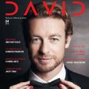 Simon Baker - David Magazine Cover [Croatia] (April 2016)