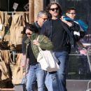 Shannen Doherty in Green Jacket – Shopping in Malibu - 454 x 618