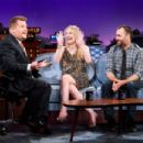 Dakota Fanning and Will Forte – 'The Late Late Show with James Corden' in LA - 454 x 303