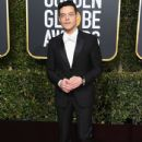 Rami Malek At The 76th Annual Golden Globes (2019)