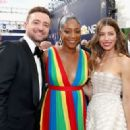 Justin Timberlake and Jessica Biel : 70th Emmy Awards - 454 x 322