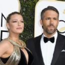 Ryan Reynolds and Blake Lively : 74th Annual Golden Globe Awards - 454 x 303