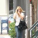 Claire Danes Strolls Through Soho, 2007-09-10