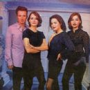 Andrea Corr, Jim Corr, Caroline Corr, Sharon Corr - Hot Press Magazine Pictorial [Ireland] (7 August 1996)