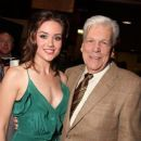Megan Boone and Tom Atkins at the Los Angeles Special Screening of Lionsgate's 'My Bloody Valentine 3D' - 385 x 463