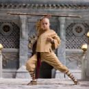 "Noah Ringer plays Aang in Paramount Pictures' adventure ""The Last Airbender."" Photo credit: Industrial Light & Magic / Paramount. © 2010 Paramount Pictures Corporation. All Rights Reserved."