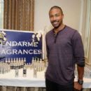 Actor Charles Michael Davis attends the HBO Luxury Lounge featuring PANDORA at Four Seasons Hotel Los Angeles at Beverly Hills on August 23, 2014 in Beverly Hills, California - 454 x 302