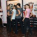 2012 Victoria's Secret Angel Holiday Celebration - 454 x 417