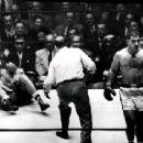 Joe losing to Rocky Marciano in 1951