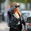 Abbey Clancy Out In London