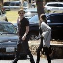 Angelina Jolie and Brad Pitt in Los Angeles  (May 02, 2015)