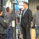 Vince Vaughn is spotted on the set of the hit HBO series 'True Detective' filming in Los Angeles, California on January 30, 2015 - 454 x 585