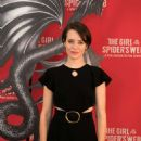 Claire Foy – 'The Girl in the Spider's Web' Photocall in Los Angeles - 454 x 647
