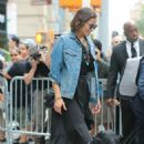 Paula Patton – Leaves AOL Build Series in New York City - 454 x 681