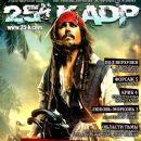 Johnny Depp - 25 Kadr Magazine Cover [Russia] (April 2011)