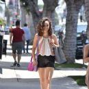 Cara Santana in Shorts – Shopping in West Hollywood - 454 x 600