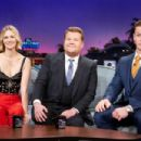January Jones and John Cena– On 'The Late Late Show With James Corden' in LA