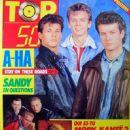 Morten Harket - Top 50 Magazine Cover [France] (6 June 1988)
