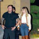 Miley Cryus – Leaving Nobu in Malibu
