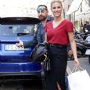 Michelle Hunziker – Out and about in Milan