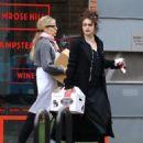 Helena Bonham Carter – Shopping in London - 454 x 546