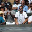 Olivia Munn at Wimbledon 2018 in London - 454 x 303