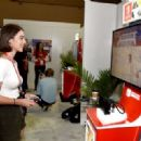 Adelaide Kane – Nintendo Booth at the E3 Gaming Convention in LA - 454 x 320