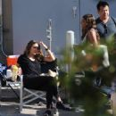 Jessica Alba – On the set of 'LA's Finest' in LA