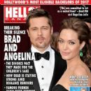 Angelina Jolie, Brad Pitt - Hello! Magazine Cover [Canada] (23 January 2017)
