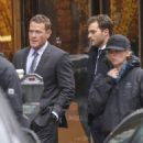Jamie Dornan and Max Martini on set of Fifty Shades Darker  ( March 1, 2016)