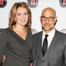 "Stanley Tucci, Felicity Blunt Welcome Baby Boy Matteo Oliver to ""Cold, Cruel World"": Read His Funny Statement"