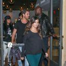 Blac Chyna, Tyga, Kourtney Kardashian, and Scott Disick Out in Calabasas - September 25, 2013