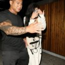 Kylie Jenner enjoys a night out at The Nice Guy nightclub in West Hollywood, California on August 26, 2015