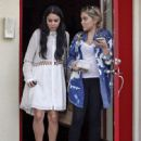 Stella and Vanessa Hudgens: out for lunch at Sun Cafe in Studio City