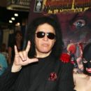 "Musician Gene Simmons debuts ""Simmons Comics Anthology"" with comic book signing at Comic-Con International 2012 at San Diego Convention Center on July 13, 2012 in San Diego, California"