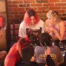 Miley Cyrus – Seen with Yungblud while out with friends in Los Angeles