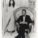 Maud Adams and Roger Moore - 364 x 481