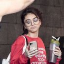 Sarah Hyland – Seen leaving Dogpoung Gym