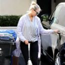 Kate Upton – Leaving the gym in Weswood