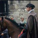 Henry Cavill- On set of