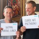 Ben Affleck and and Matt Damon for Omaze