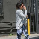Jenna Dewan in Spandex out in West Hollywood