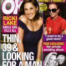 Ricki Lake, Pamela Anderson, Britney Spears, Rick Salomon - OK! Magazine Cover [United States] (24 October 2007)