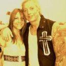 Jani Lane and Kimberly Nash