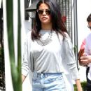 Selena Gomez Leaving Gracias Madre in West Hollywood, CA. August 19,2014